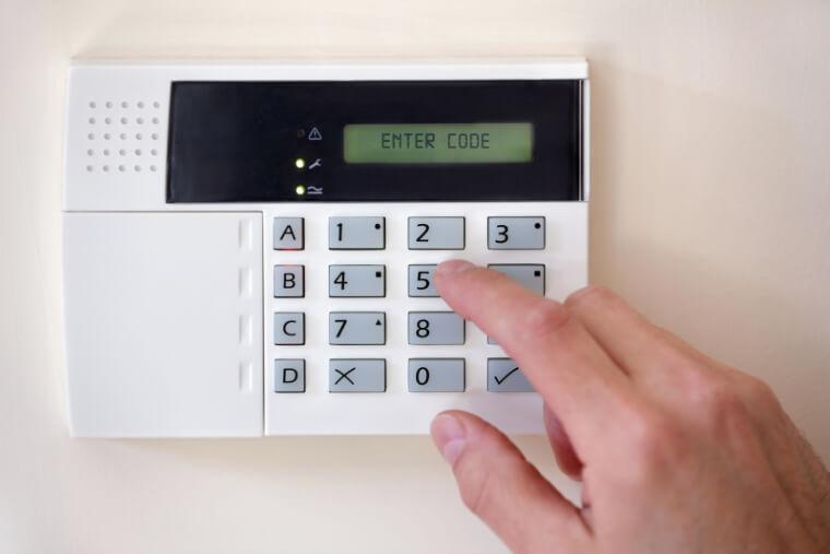 code instellen alarmsysteem